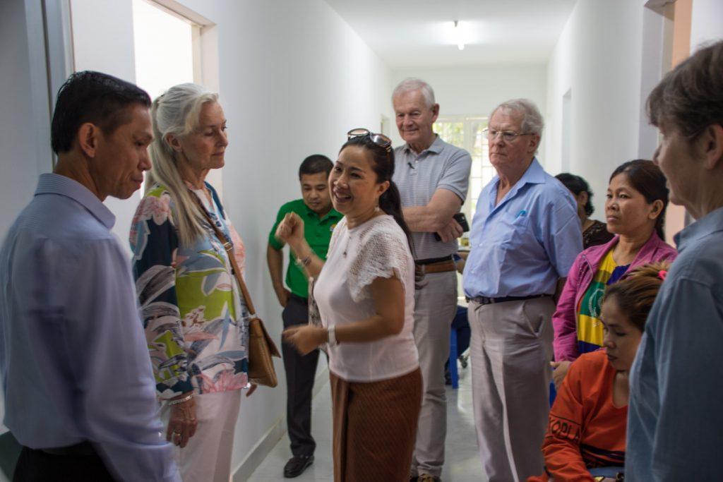 På besøk hos Impact Cambodia